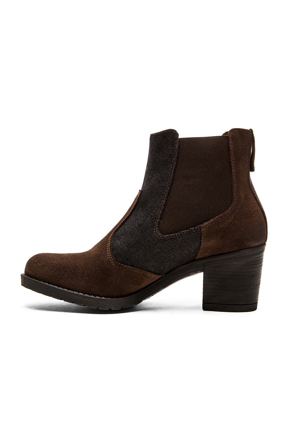 Lyst G Star Raw Debut Ankle Gore Bootie In Brown