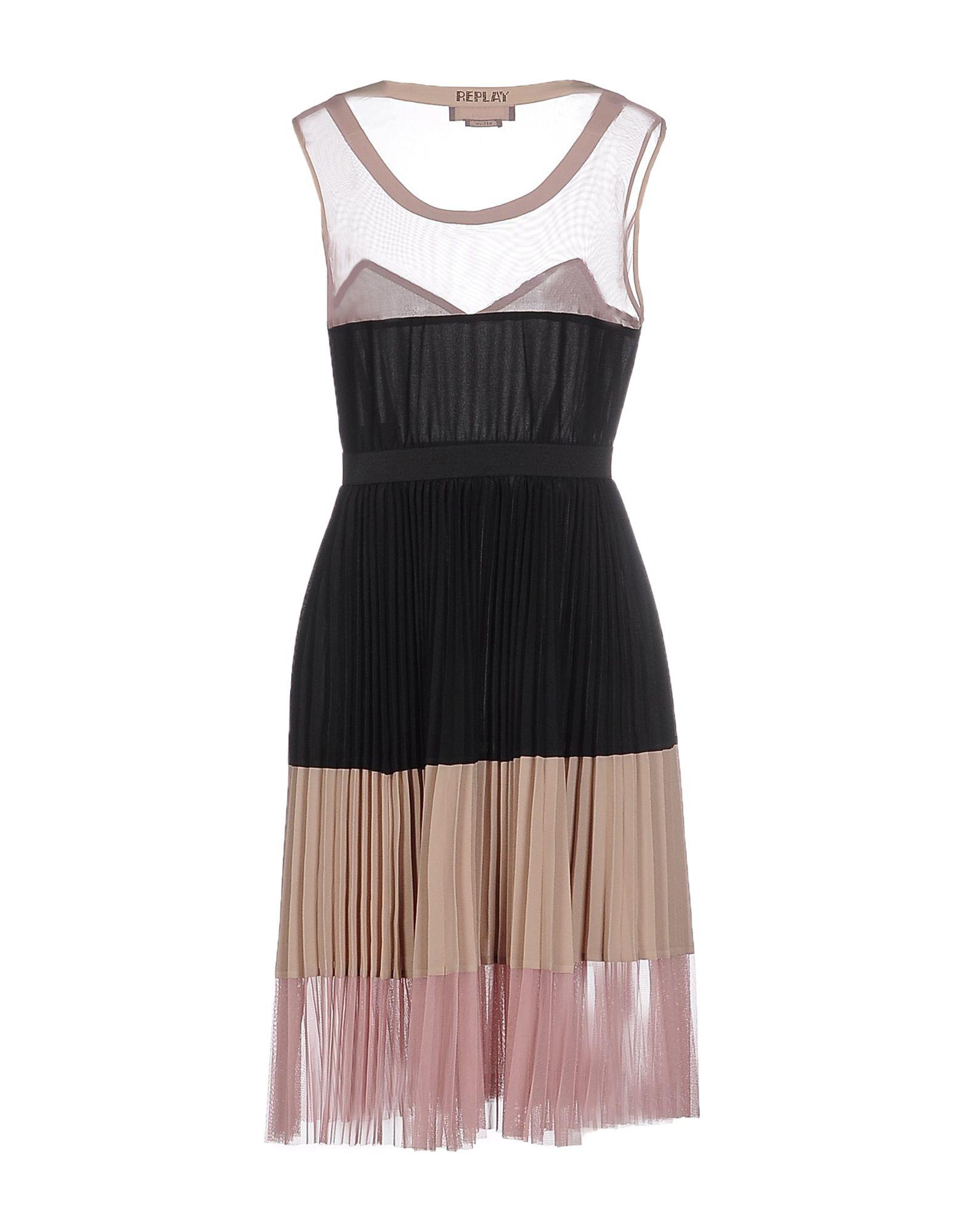 DRESSES - Knee-length dresses Replay Dj76Zm