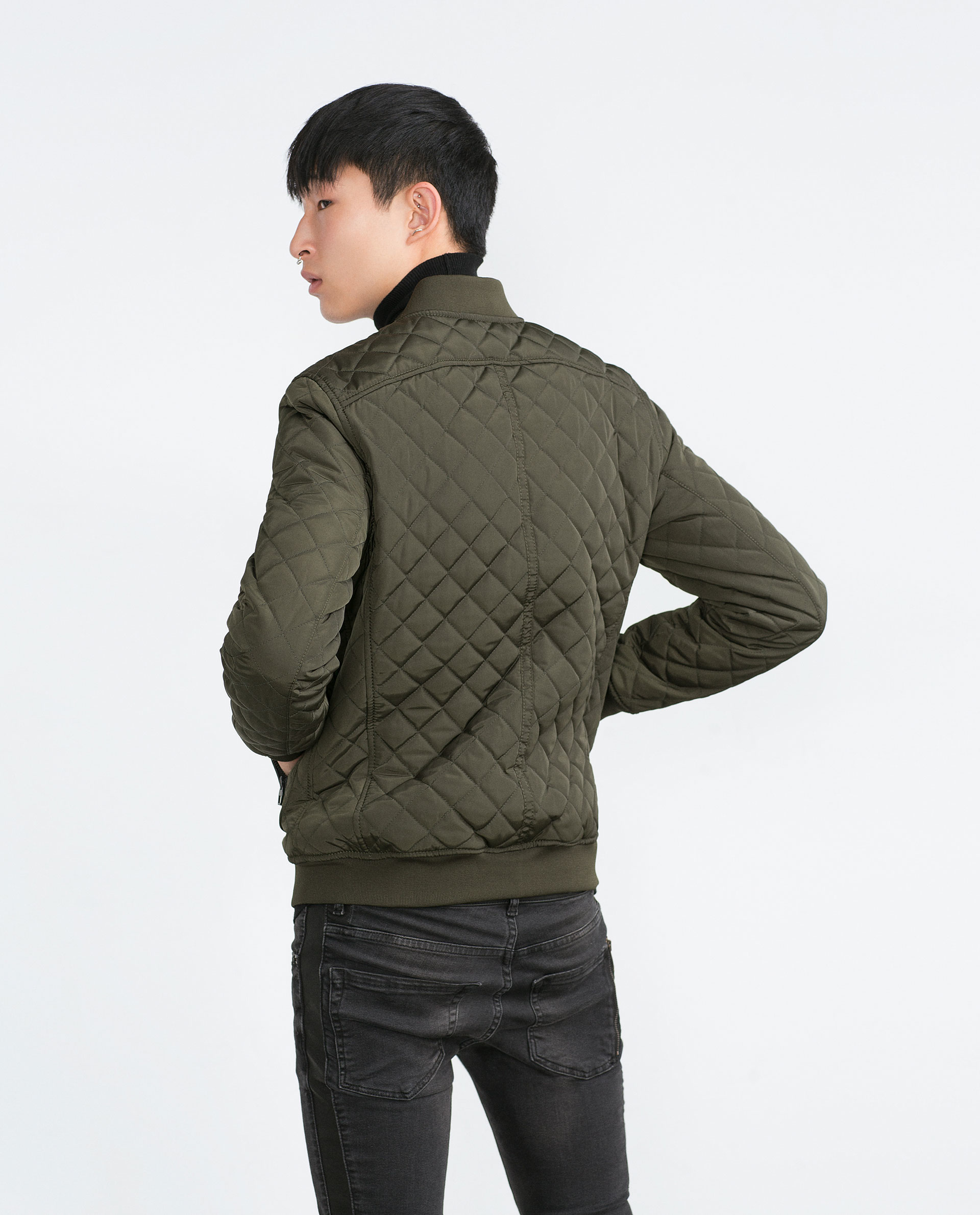 Calvin Klein men's outerwear quilted bomber jacket with zipper front. SHDAS Men's Slim Fit Zip Up Square Pattern Quilted Bomber Jacket. by SHDAS. $ - $ $ 29 $ 30 5 out of 5 stars 6. See Details. Promotion Available See Details.