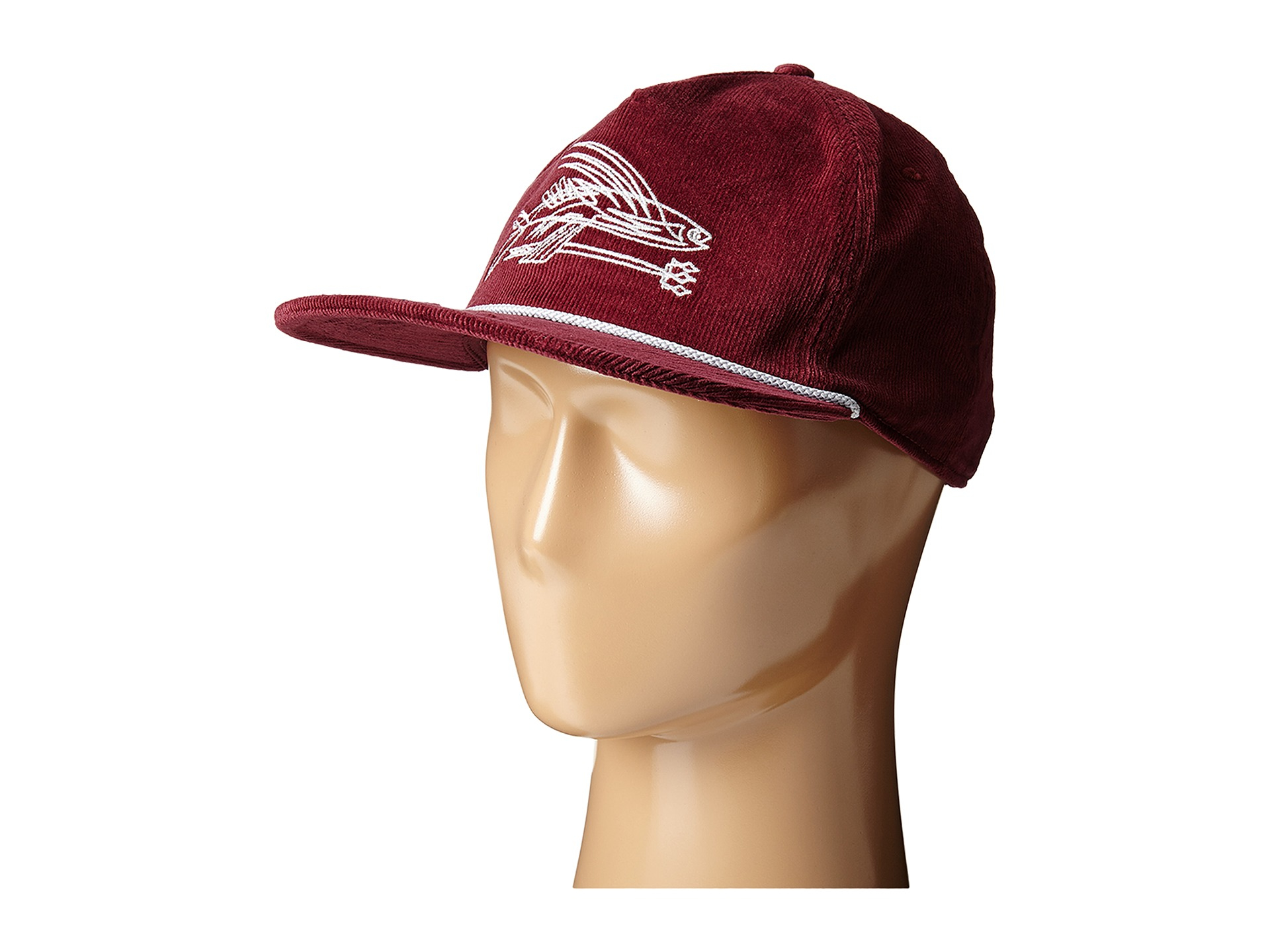 e71abd9fd07 Lyst - Patagonia Pinstripe Flying Fish Corduroy Hat in Purple for Men