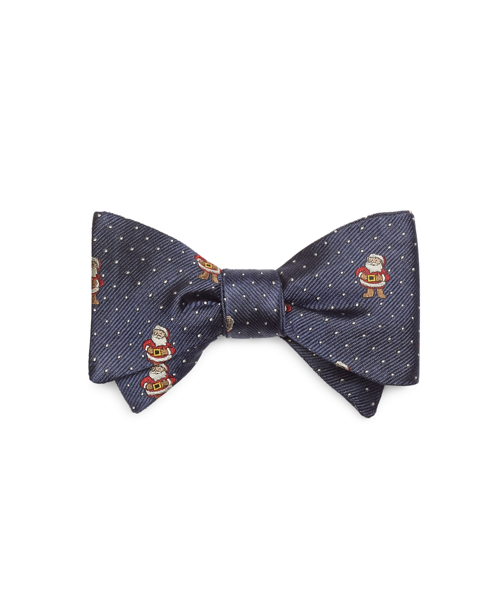 Brooks brothers Pindot Santa Bow Tie in Blue for Men | Lyst