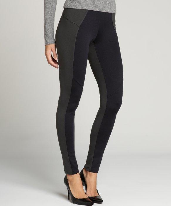 Grey And Black Leggings