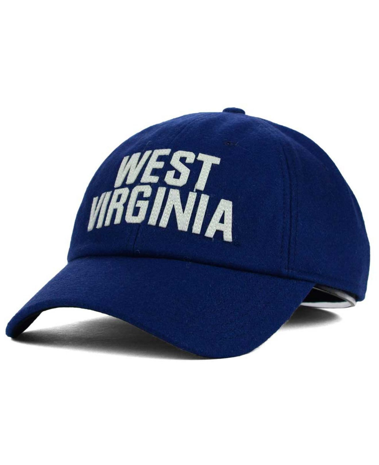 957f945ad5b Lyst - Nike West Virginia Mountaineers H86 Fitted Cap in Blue for Men