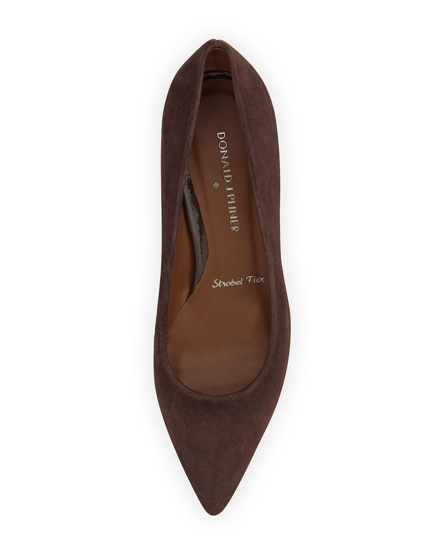 Dark Brown Shoes Pants