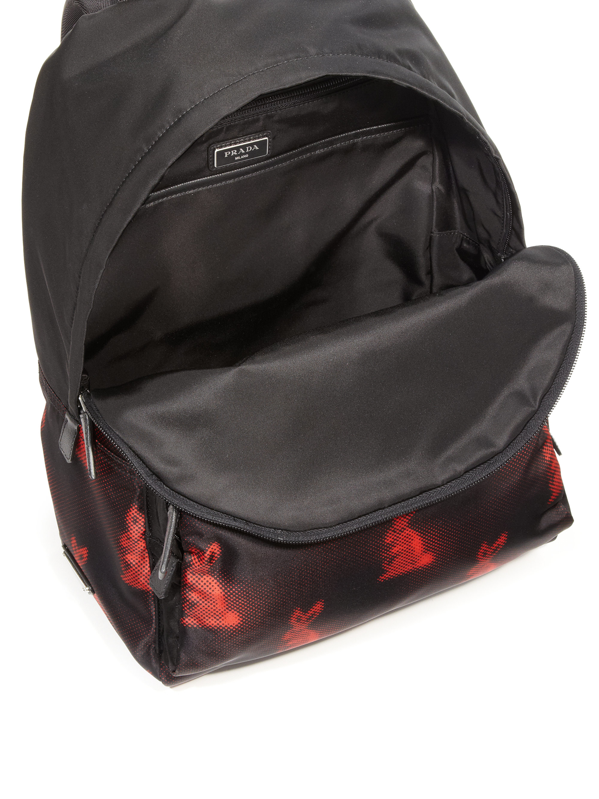 pink prada backpack - prada backpack red
