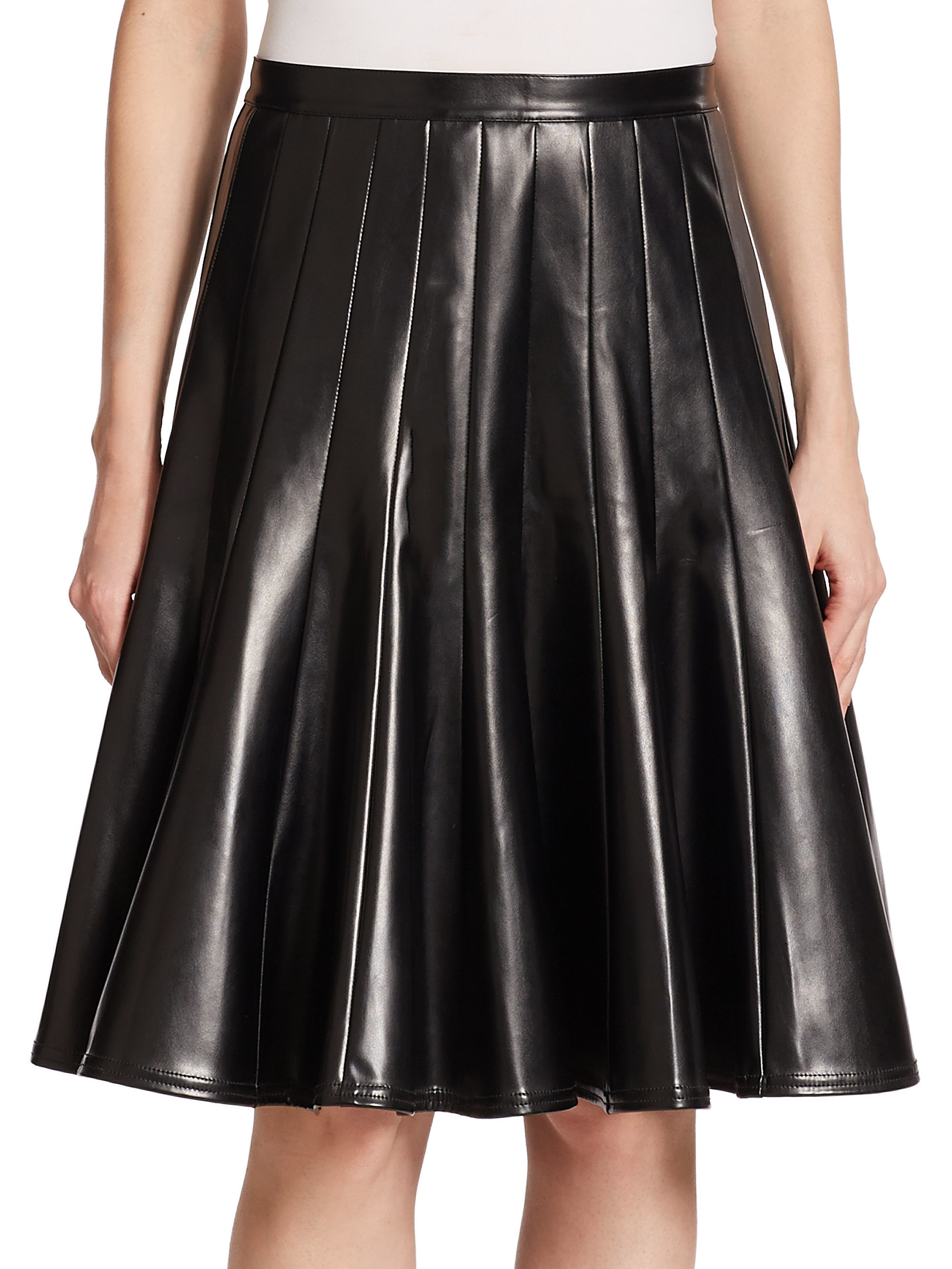 matches. ($ - $) Find great deals on the latest styles of Faux leather pleated skirt. Compare prices & save money on Women's Skirts.