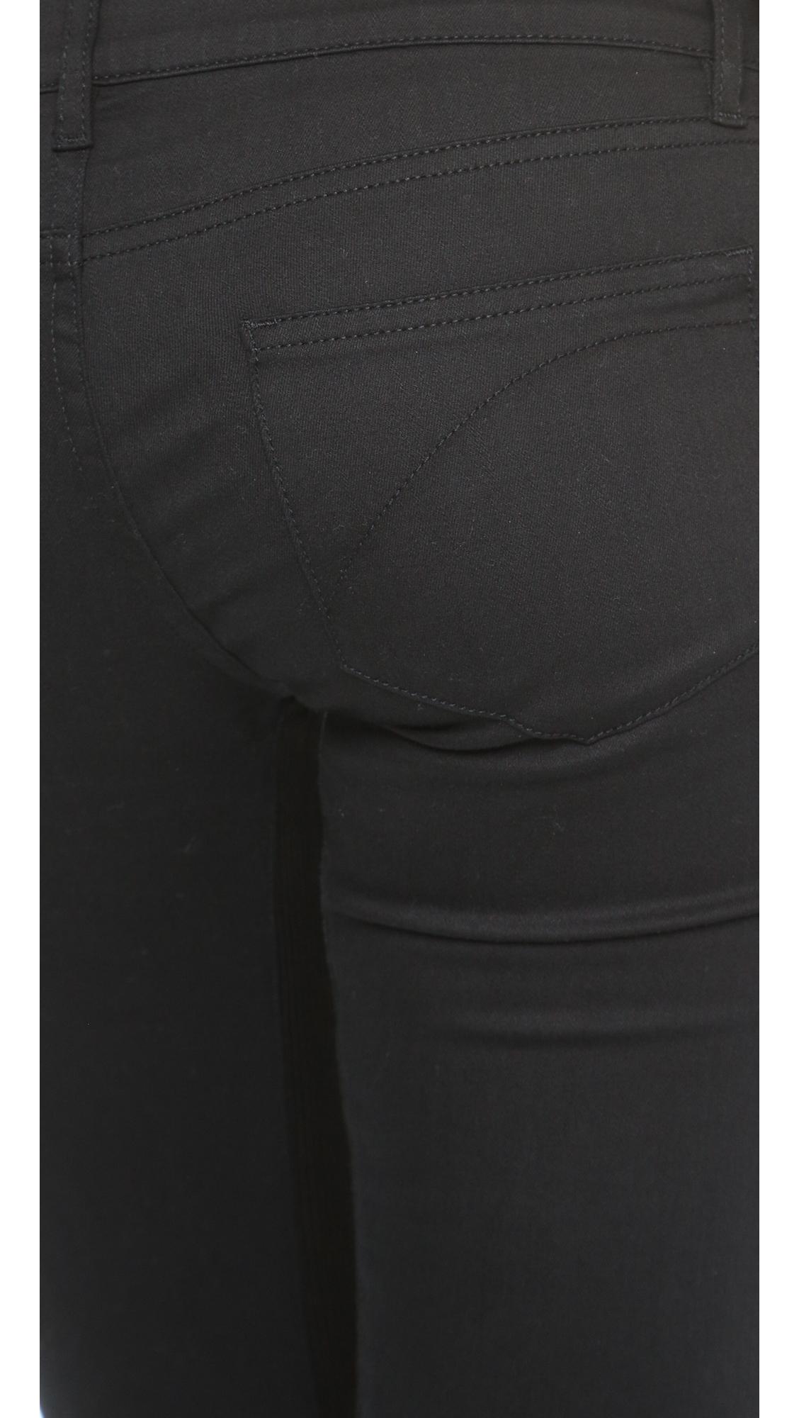 Superfine Denim Legging Jeans - Black