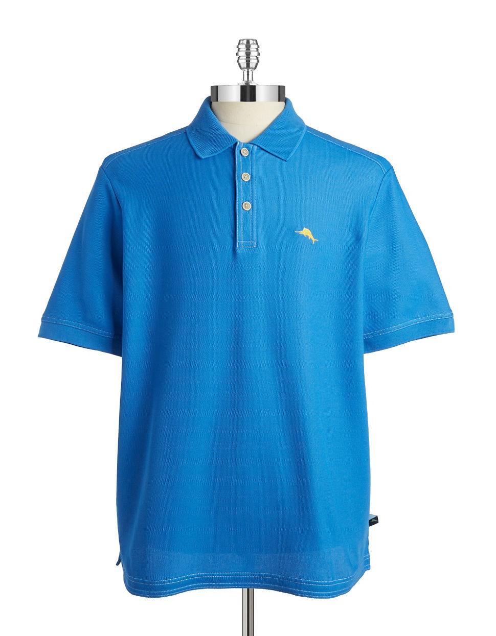 Tommy Bahama Emfielder Polo Shirt In Blue For Men Lyst