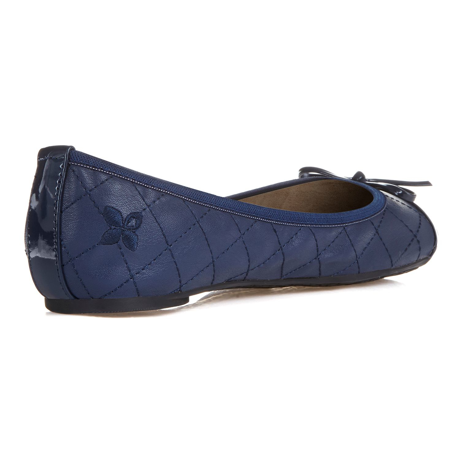 butterfly twists olivia foldable ballerina pumps in blue lyst. Black Bedroom Furniture Sets. Home Design Ideas