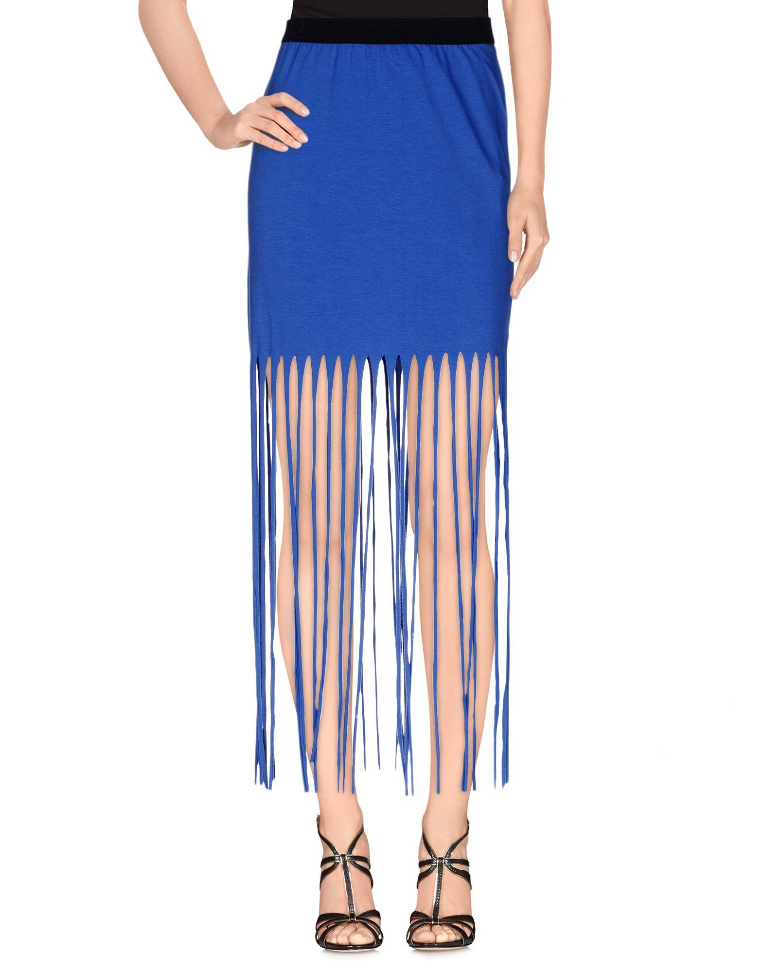 vicolo mini skirt in blue bright blue save 25 lyst
