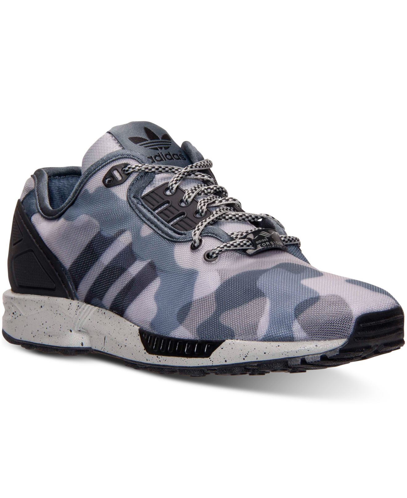 adidas men 39 s zx flux decon running sneakers from finish. Black Bedroom Furniture Sets. Home Design Ideas