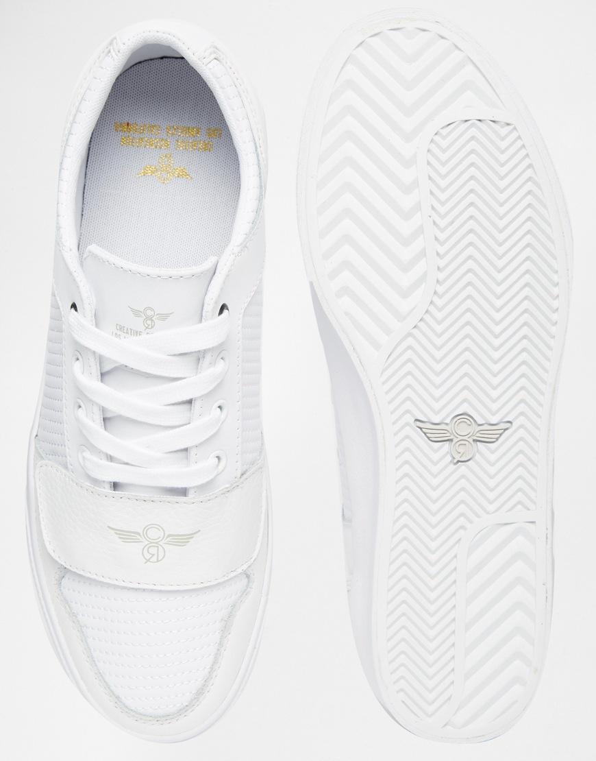 Creative Recreation Cesario Lo Xvi Ripple Trainers - White for men