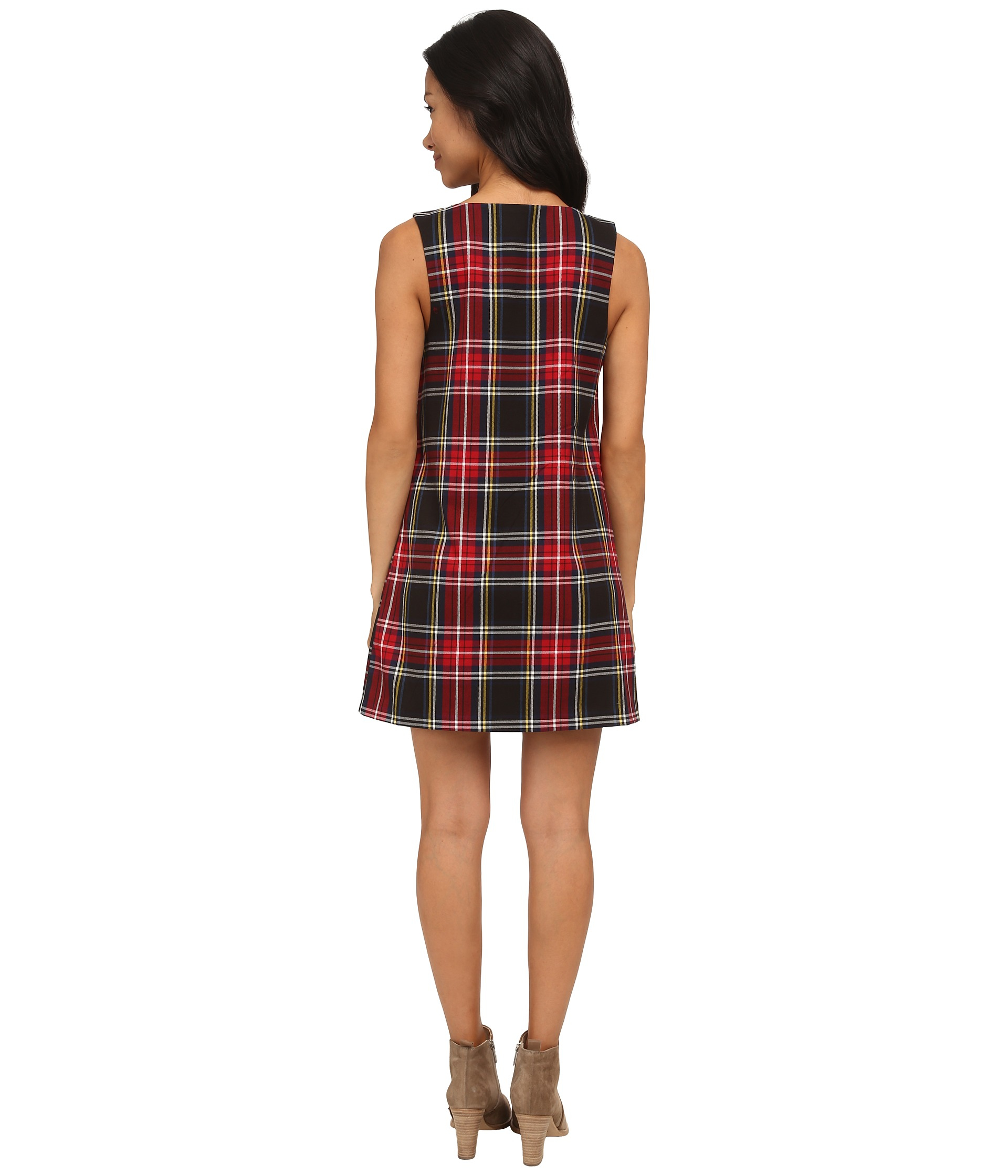 65f5c80602f Gallery. Previously sold at  Zappos · Women s Tartan Dresses ...