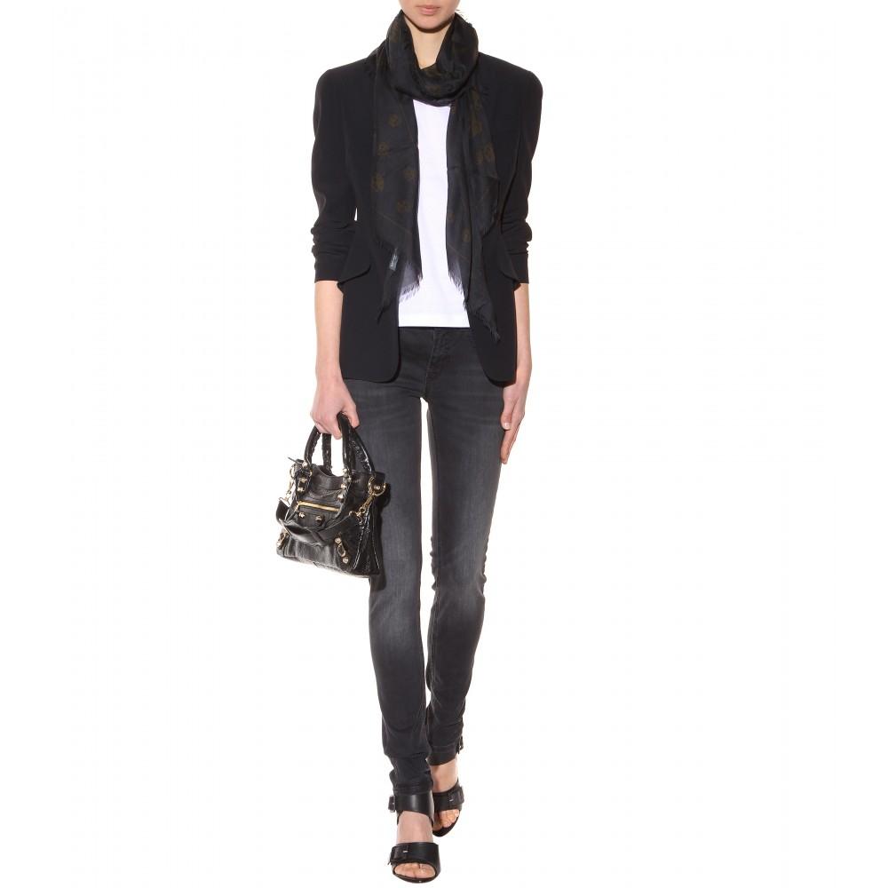 c32f702a536 Balenciaga Giant 12 First Shoulder Bag in Black - Lyst