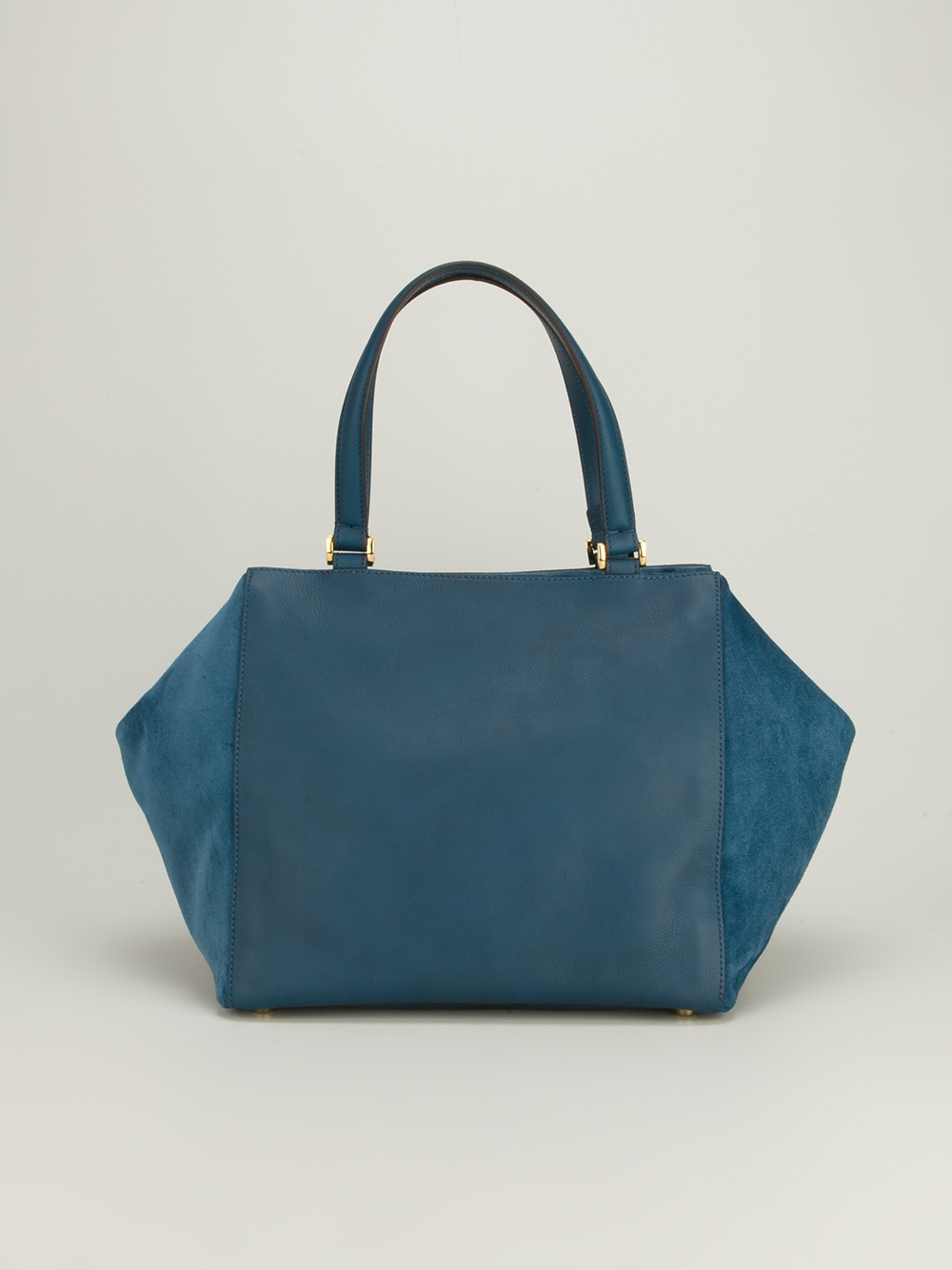 Fendi Square Tote Bag in Blue