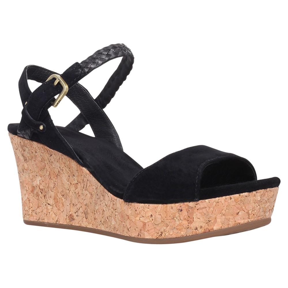 ugg sandals black