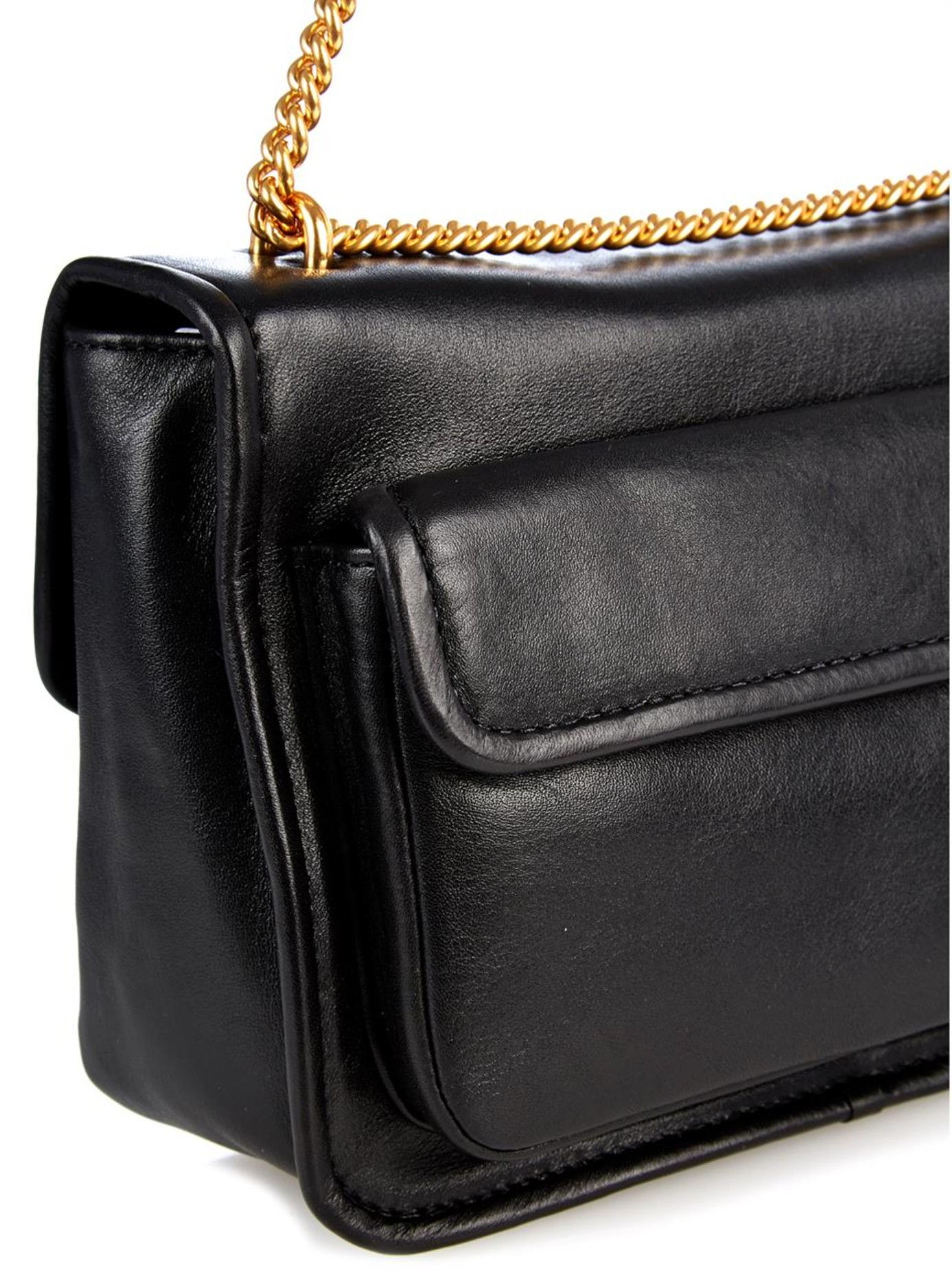 af3cddf9afe1 Lyst - Marc By Marc Jacobs Rebel 24 Leather Cross-Body Bag in Black