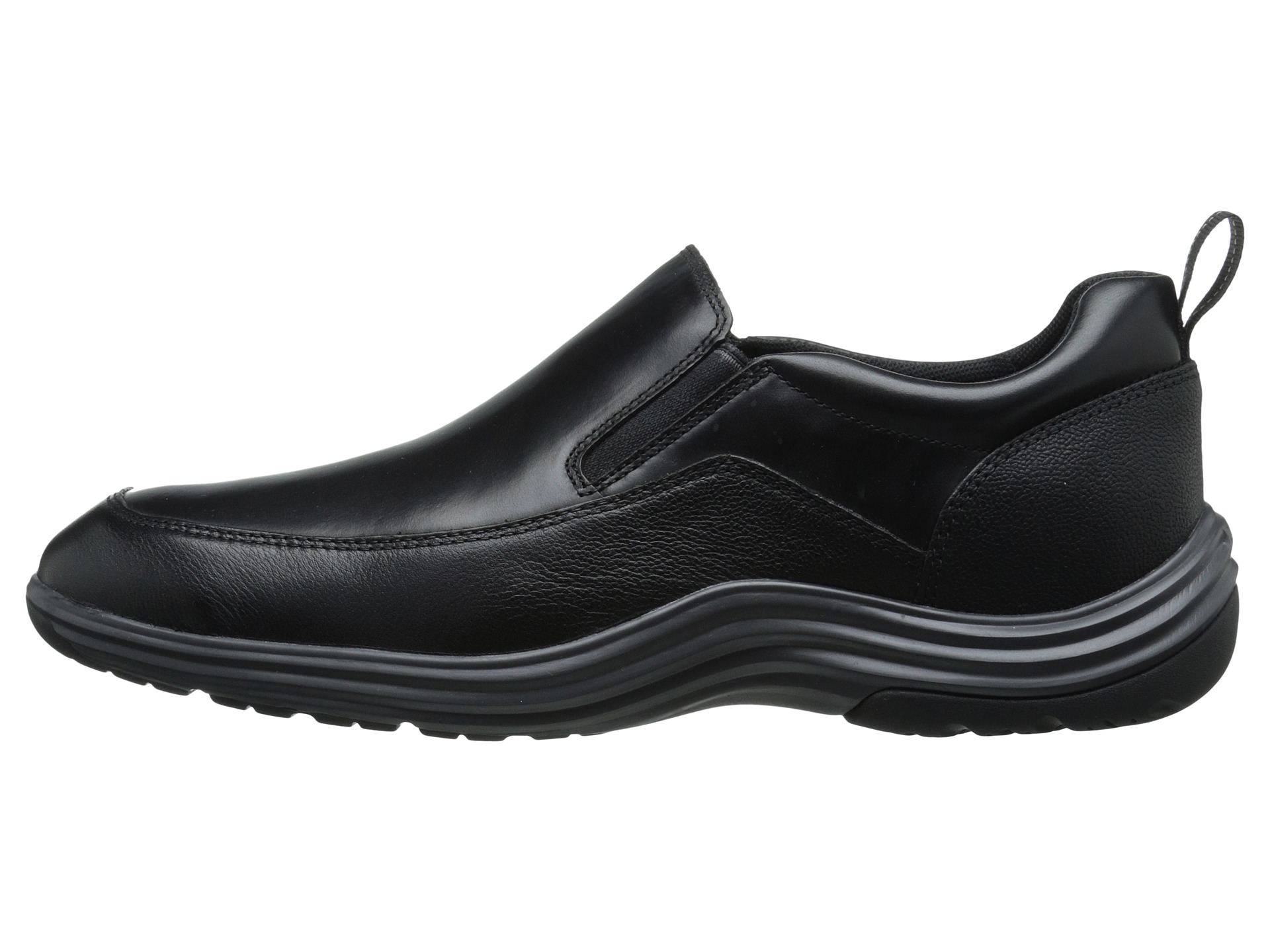 cole haan tucker grand slip on in black for lyst