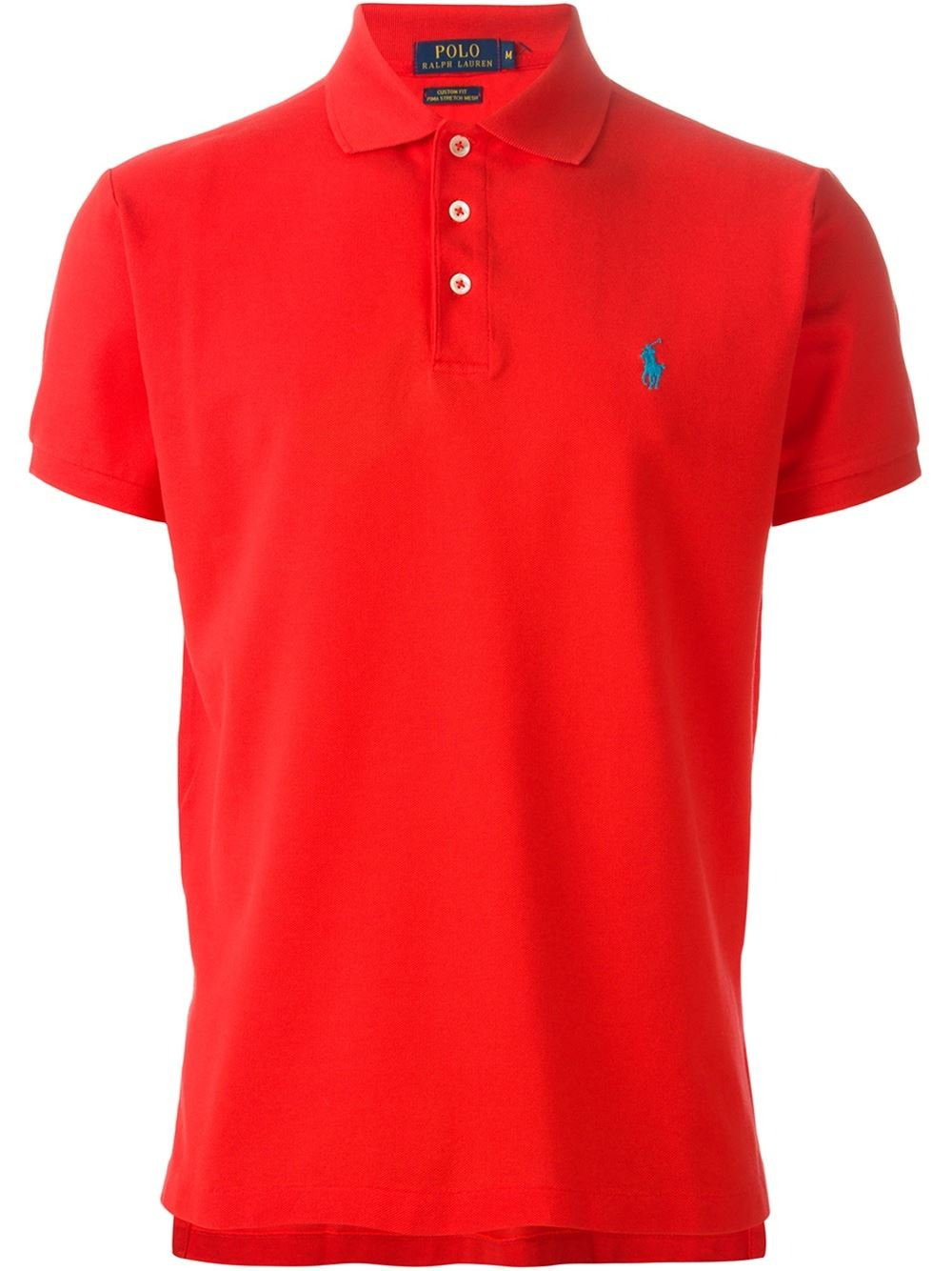 polo ralph lauren short sleeved polo shirt in red for men lyst. Black Bedroom Furniture Sets. Home Design Ideas