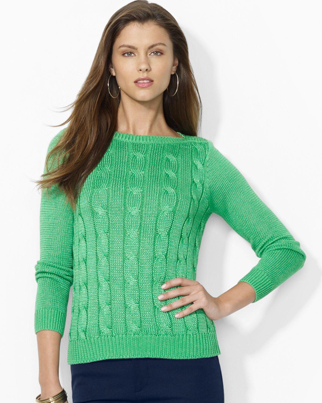 Ralph Lauren Ladies Cotton Sweaters Prism Contractors Engineers