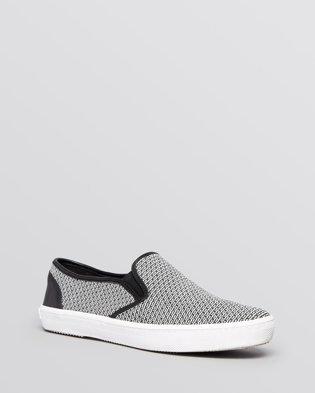 Rebecca Minkoff Embossed Slip-On Sneakers in China cheap price oylfU1Y4