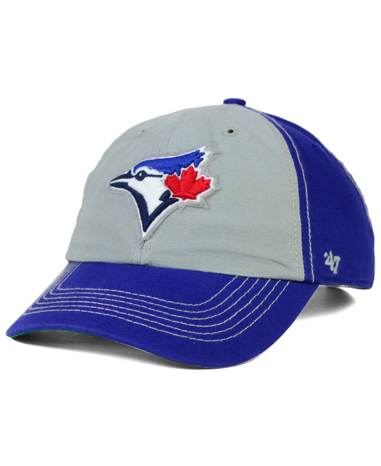 new arrival 5dda7 e1da8 ... clearance lyst 47 brand toronto blue jays adjustable clean up cap in  blue ed056 15eb3