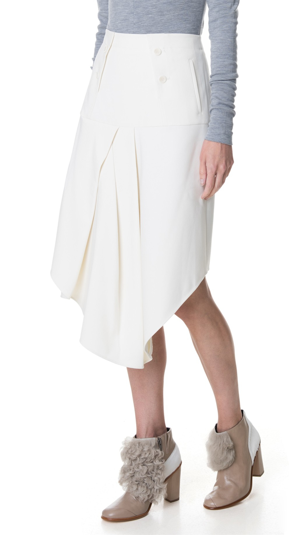 drapes luxury en girl skirt anniversary draped ivory baby dress with boutique