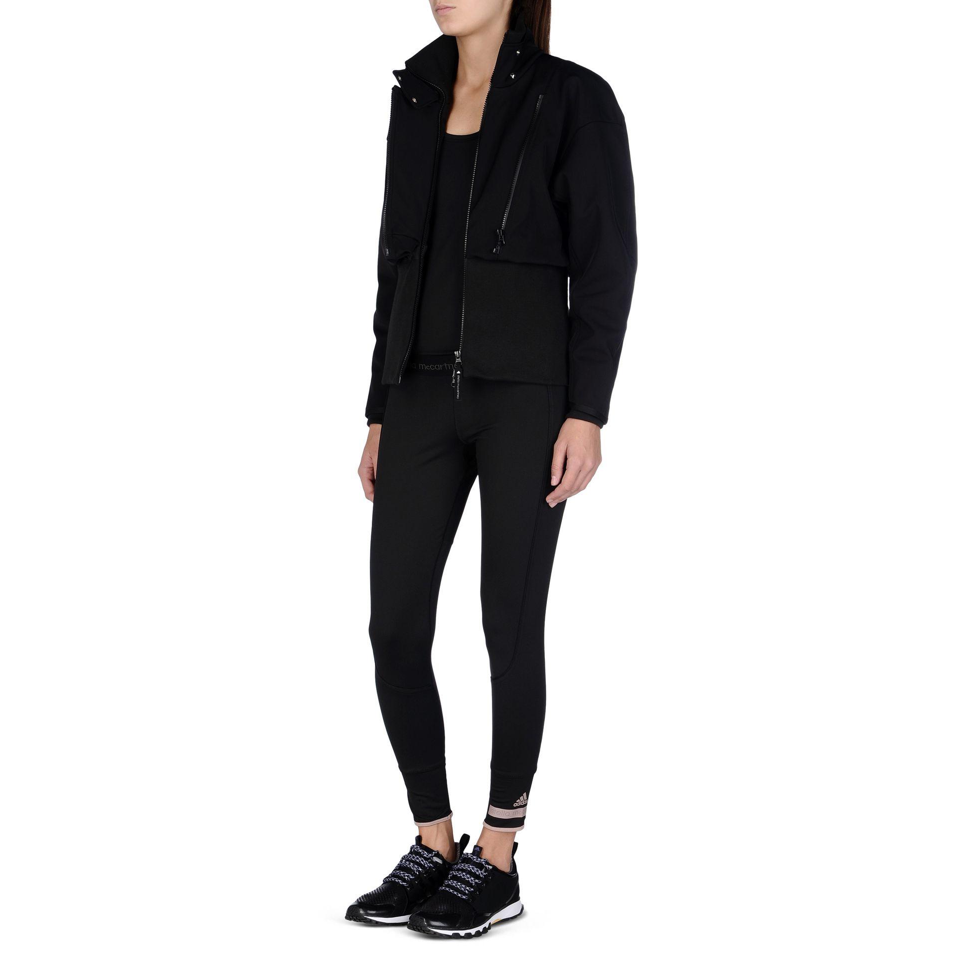 45932c42b2b53 adidas By Stella McCartney Wintersports Slim Jacket in Black - Lyst