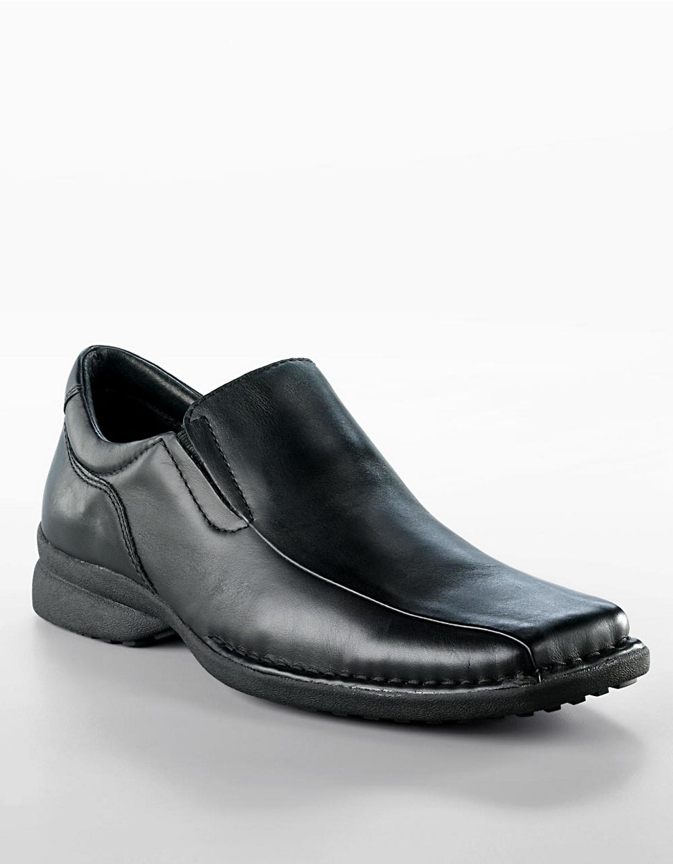 kenneth cole reaction punchual casual leather slip on