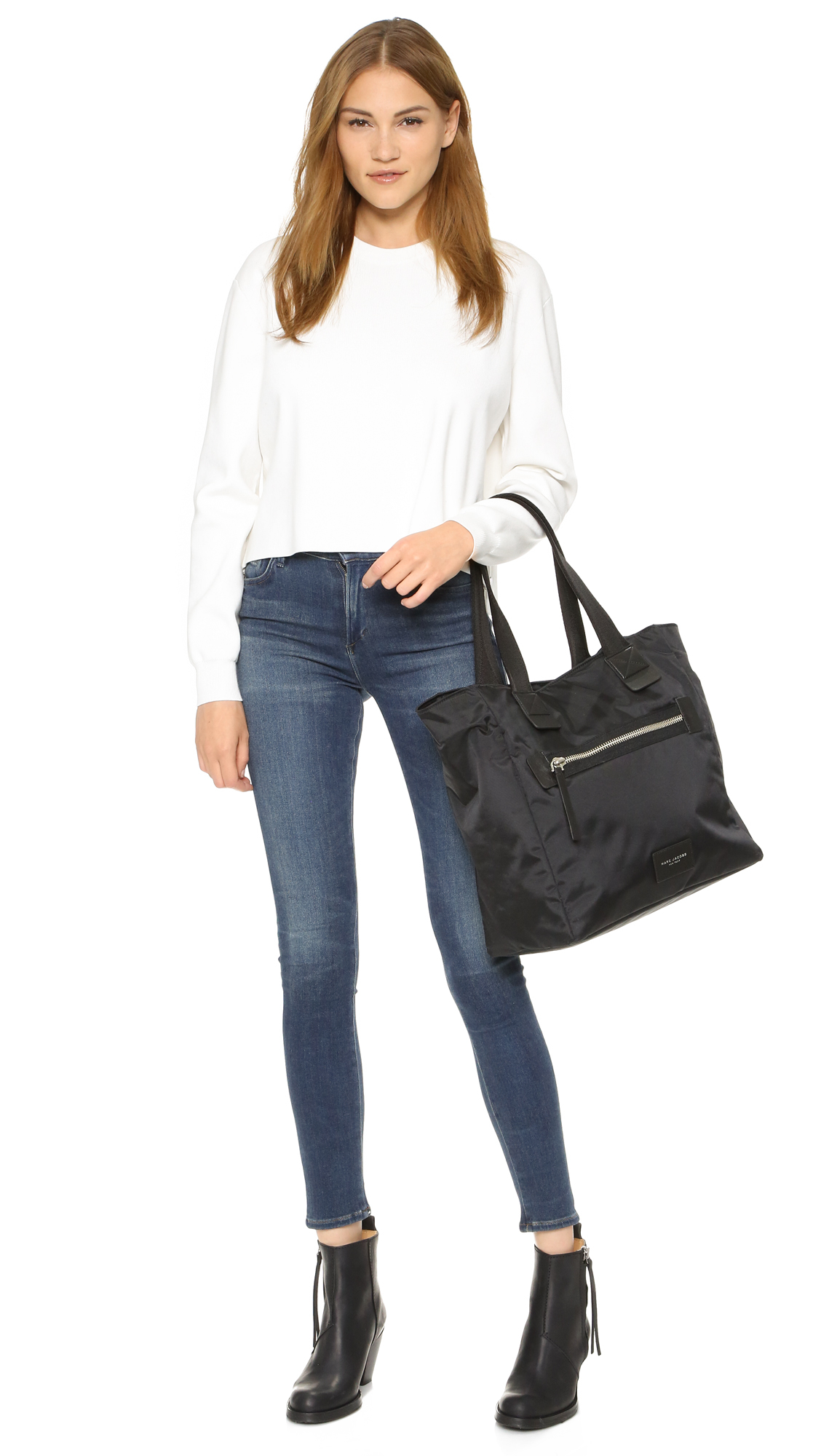 Marc Jacobs Synthetic Nylon Biker N / S Tote in Black