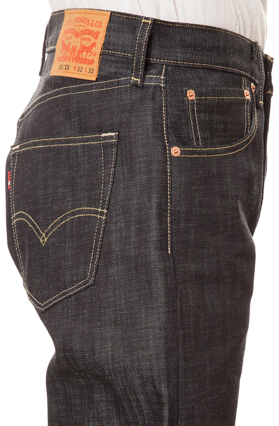 Lyst - Levi'S Men's 501 Original Fit Jeans in Black for Men