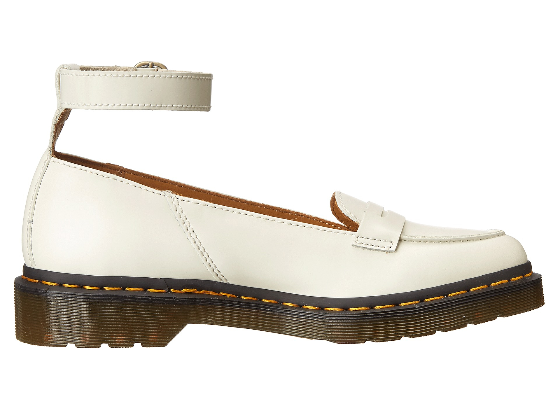 Dr. Martens Leonie Pointed Ankle Strap Penny Loafer in ...