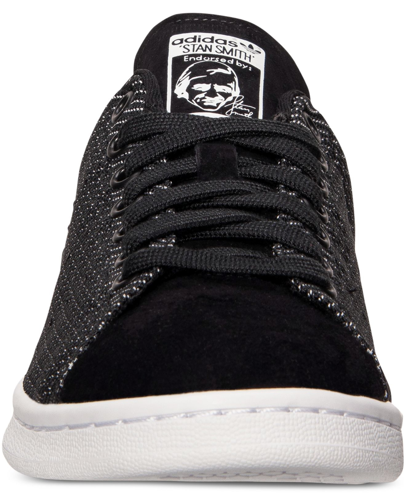 adidas men s originals stan smith weave casual sneakers from