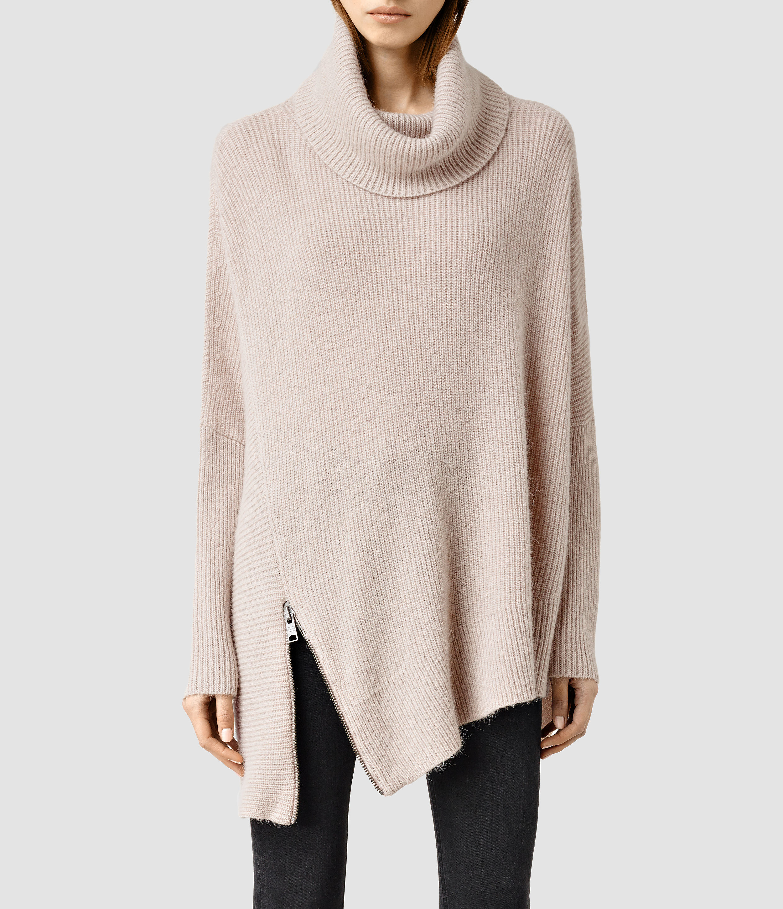 Buy Cheap New AllSaints Able Wool Cardigan Discount Largest Supplier Outlet Excellent x5j2QQG3v