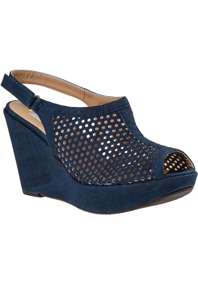 vaneli for jildor emmalee wedge sandal blue cork in blue