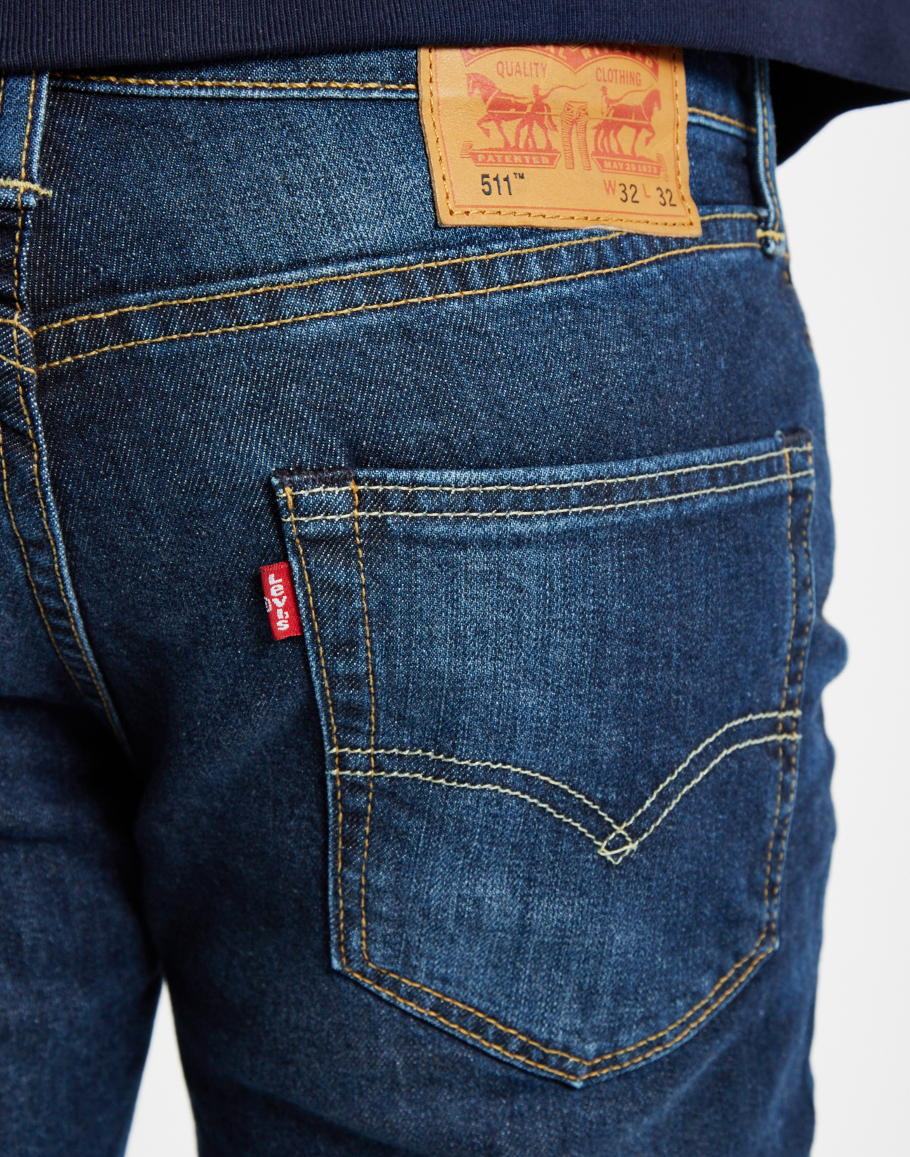 levi 39 s 511 brutus slim fit jeans blue in blue for men lyst. Black Bedroom Furniture Sets. Home Design Ideas