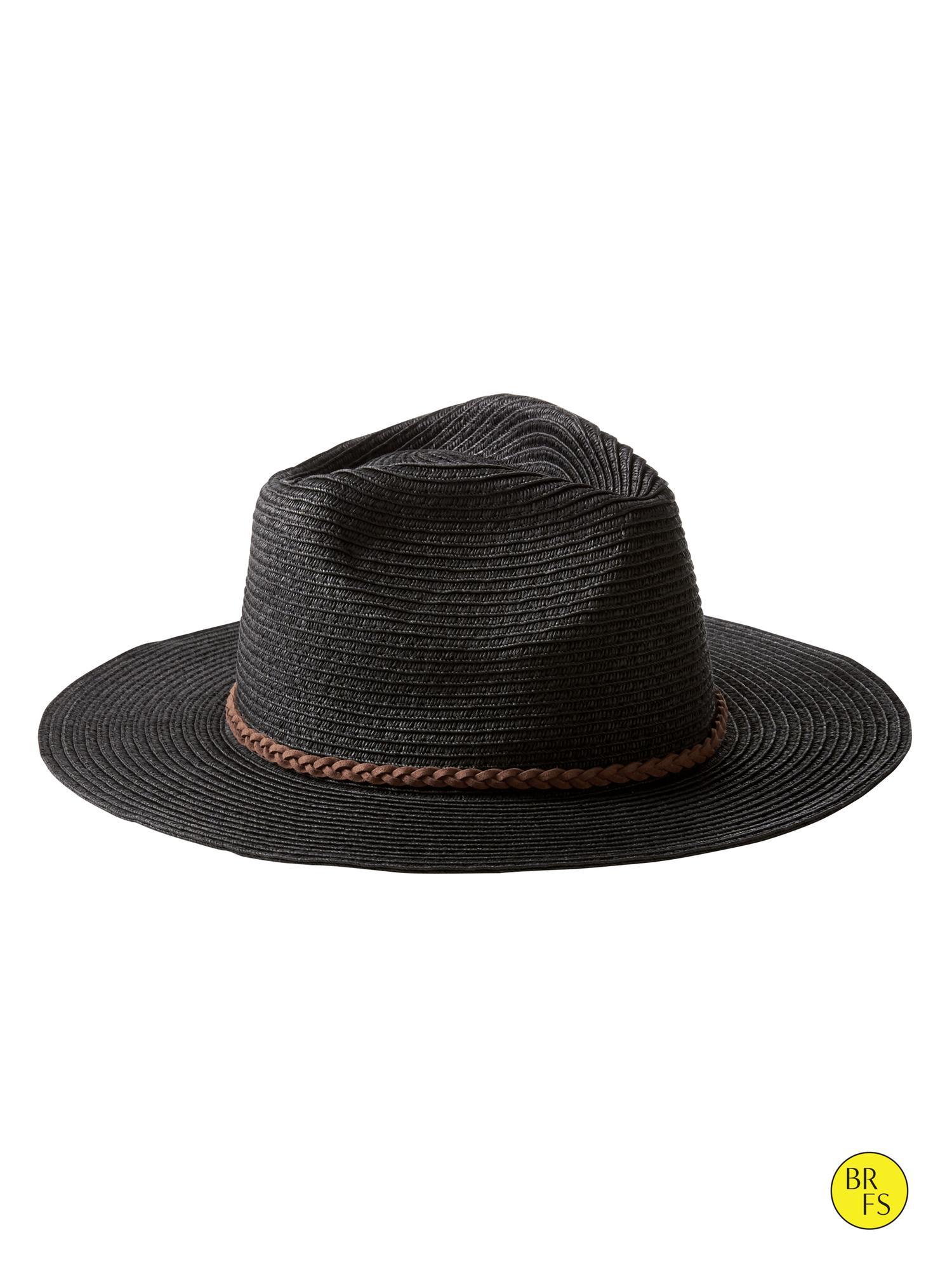 Banana Republic Factory Panama Hat In Black Lyst