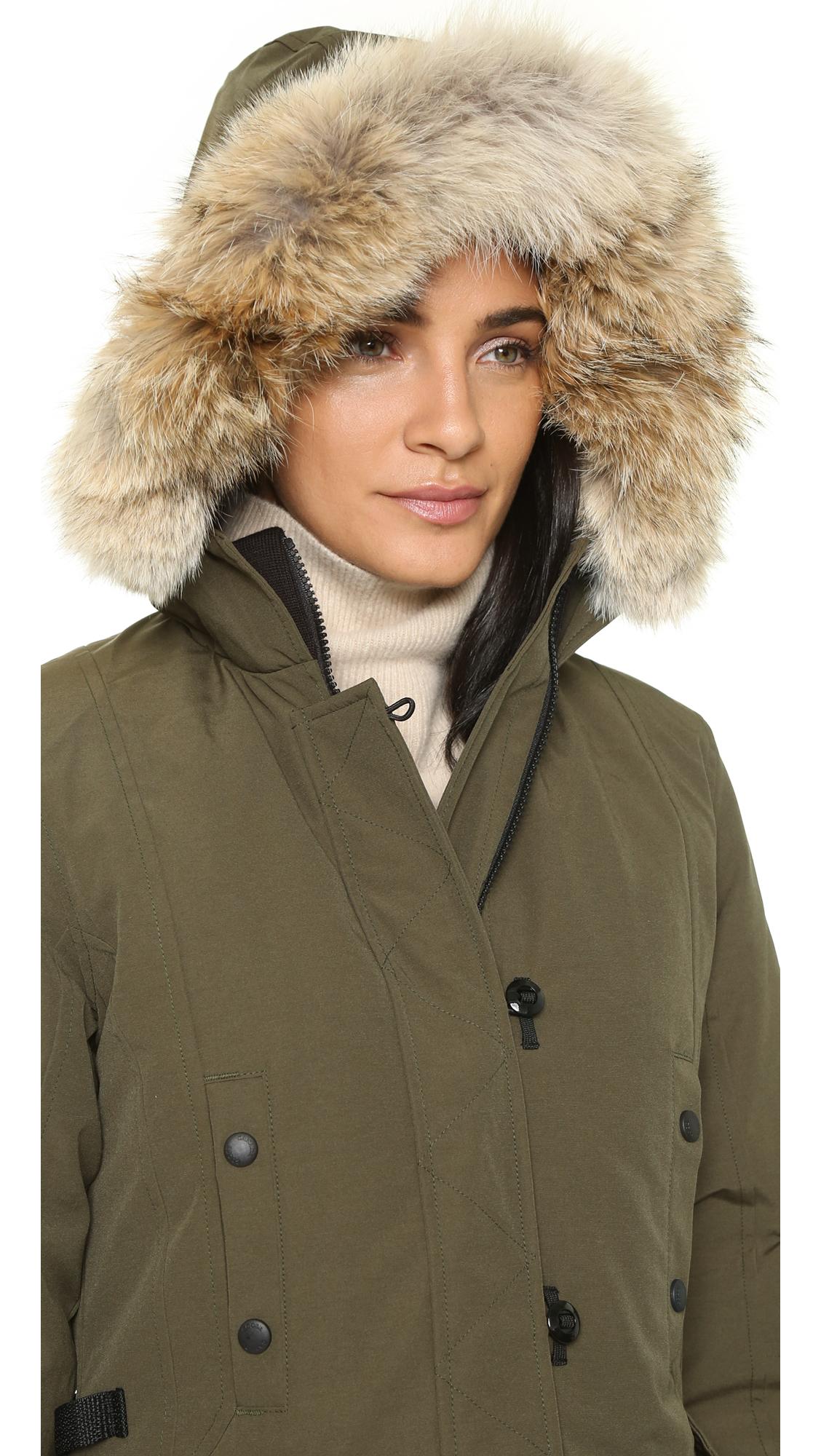 ba885ee025a4 Previously sold at Shopbop · Womens Canada Goose Kensington ...