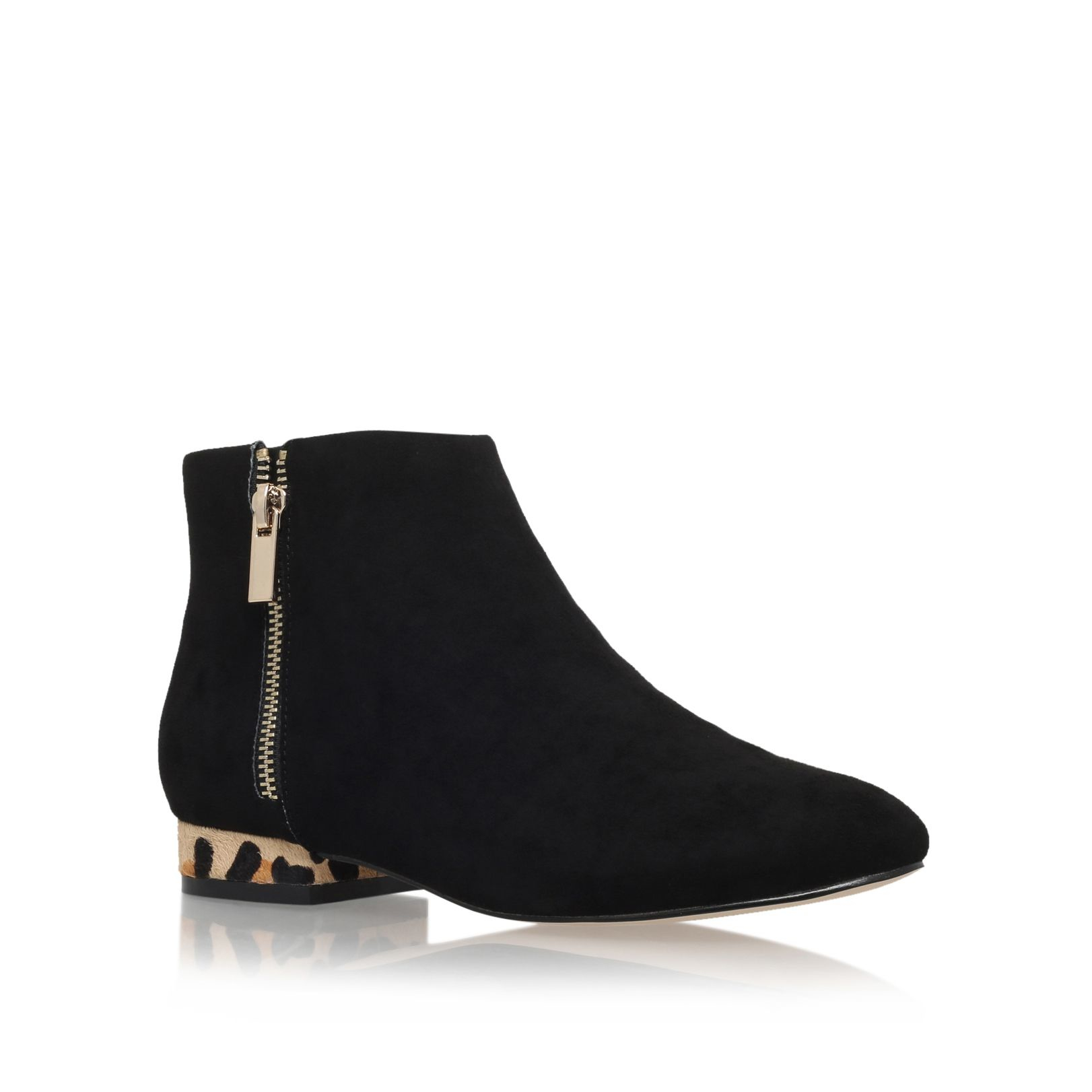 Try a pair of ankle boots with a wedge heel for an ultra-chic look and a confident boost in height. Raise the style stakes with ankle boots that boast a pointy heel and add a ton of drama to any outfit.