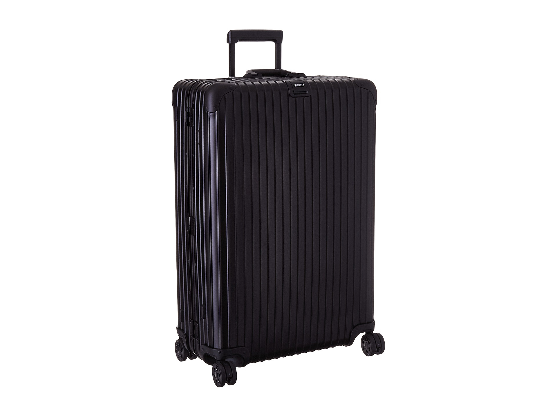 rimowa topas stealth multiwheel 32 rhd in black for men lyst. Black Bedroom Furniture Sets. Home Design Ideas