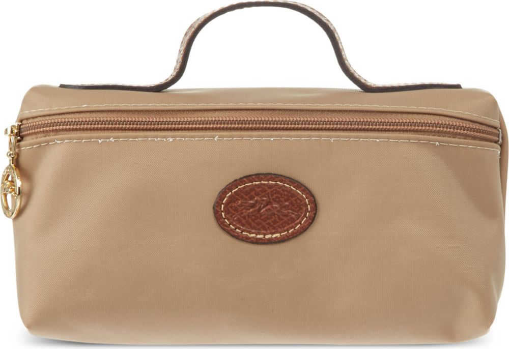 Longchamp Bag Le Pliage Colours : Longchamp le pliage make up bag for women in beige lyst