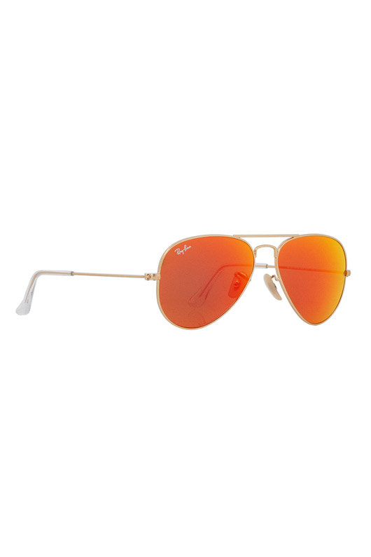 Ray-ban Rb3025 Aviator Flash Lenses 55 Mm Sunglasses in
