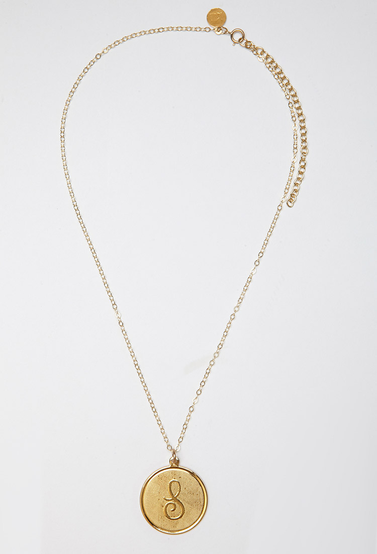 forever 21 moon and lola medium dalton s necklace in