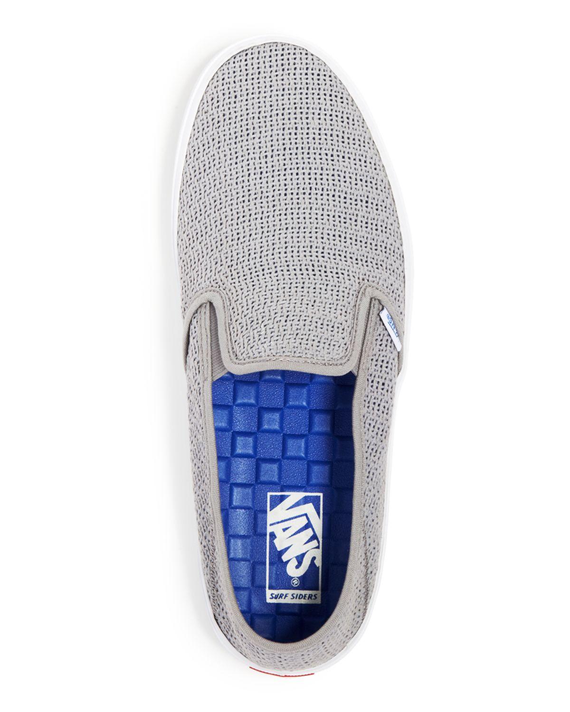 Vans Comino Mesh Slip-On Sneakers in Mid Grey (Gray) - Lyst