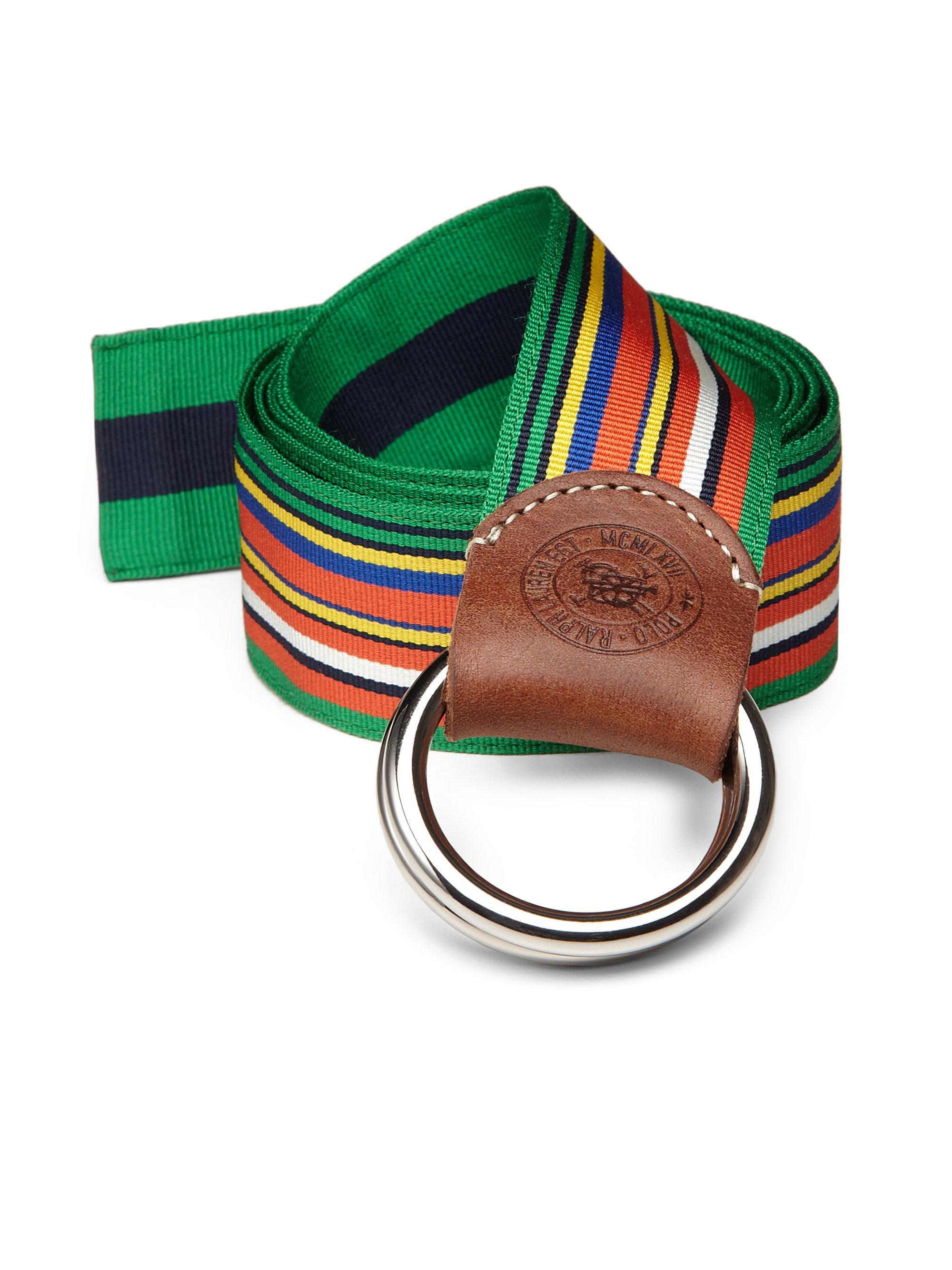 Ralph Lauren Ring Belt Black