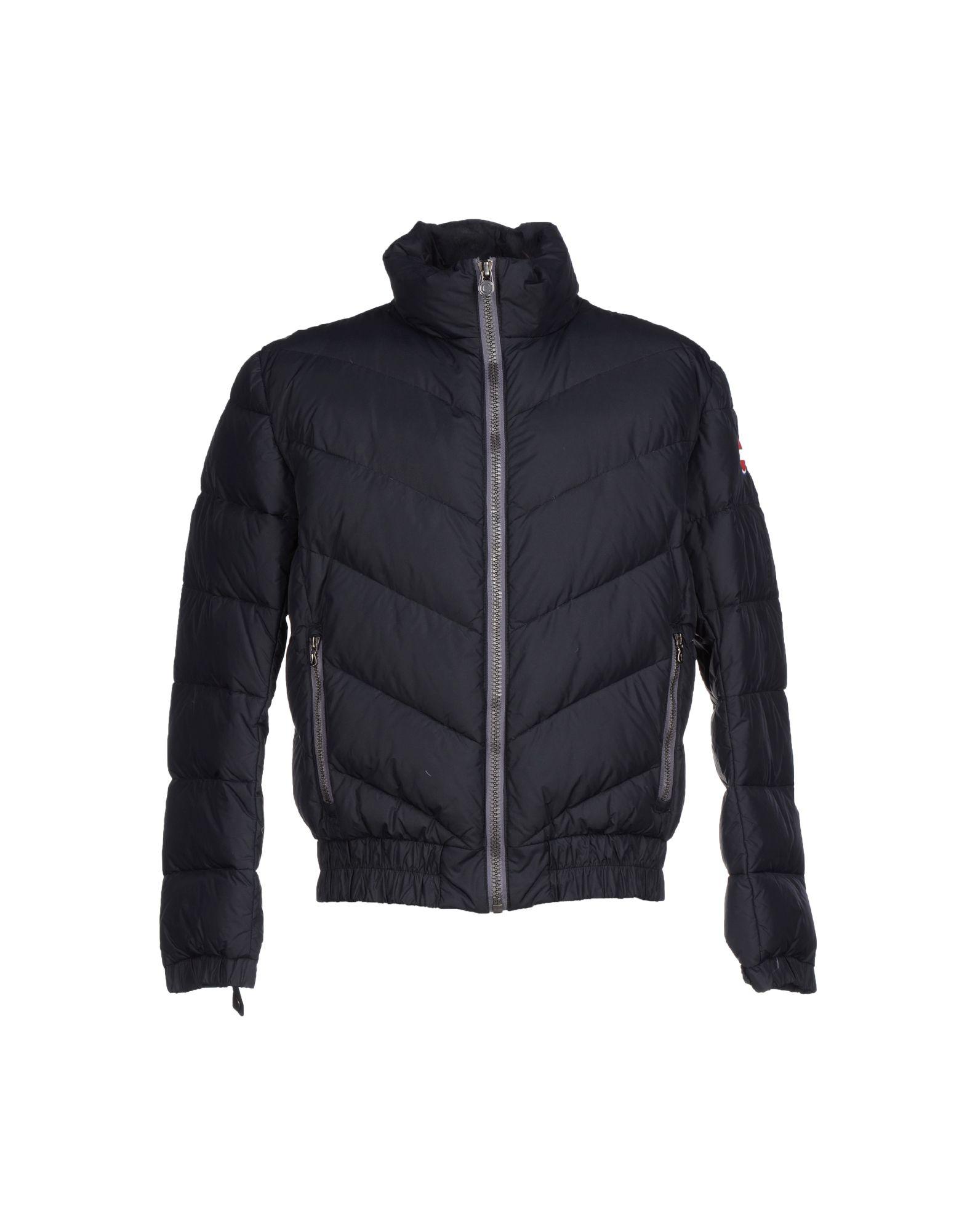 colmar down jacket in black for men lyst. Black Bedroom Furniture Sets. Home Design Ideas