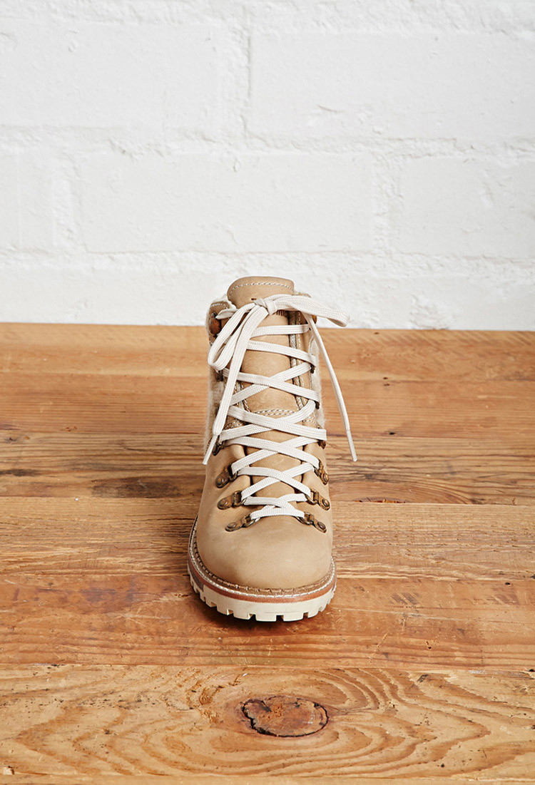 f3d945626da Forever 21 Brown Woolrich Womens Rockies Hiking Boots