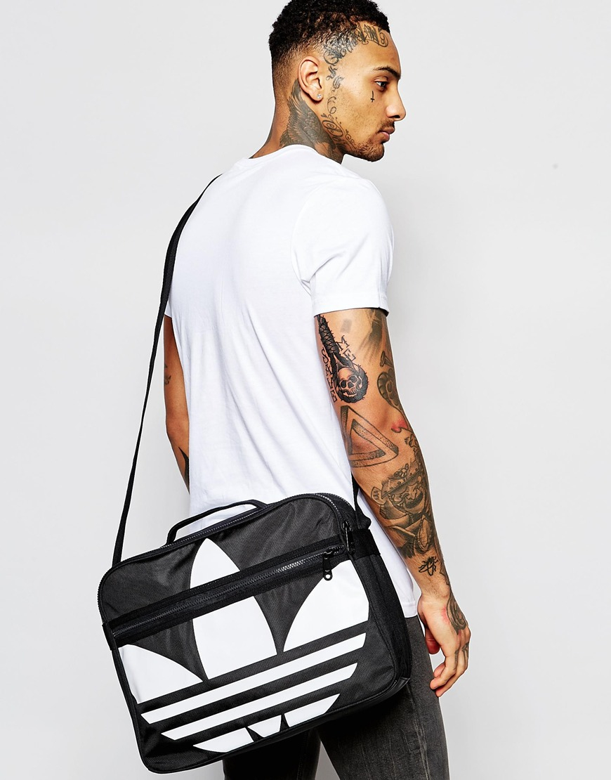 dffb850af6b9 Lyst - adidas Originals Airliner Messenger Bag in Black for Men