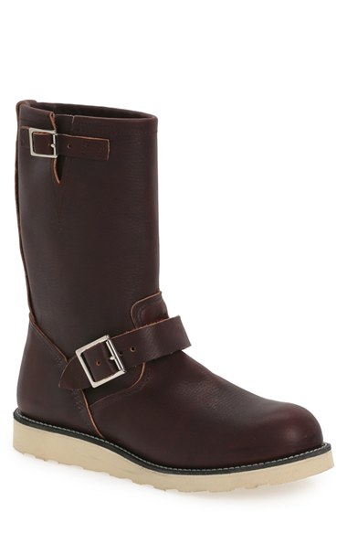 Lyst Red Wing Engineer 11 Inch Boot In Brown For Men