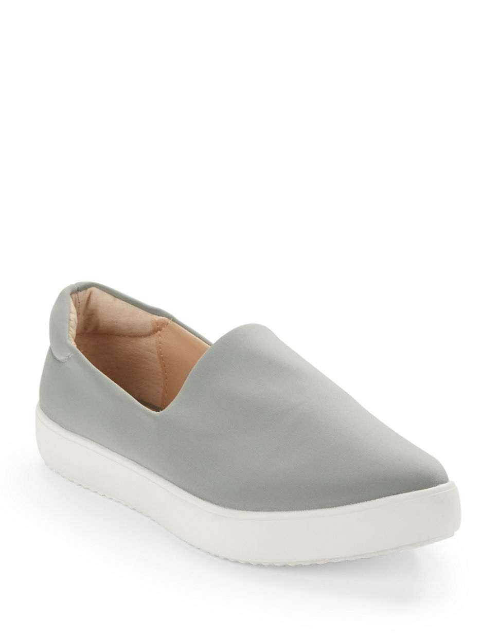 Steve Madden Leather Slip On Shoes